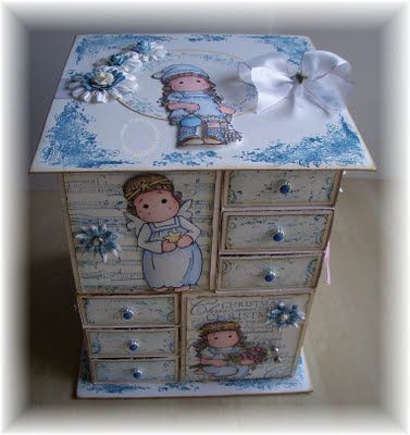Advent Calendar Magnolia - Marinas Karten-Kiste: Advent, Advent