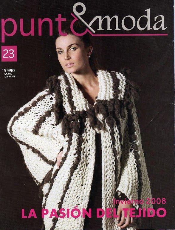 Moda Knitting Pattern Books : 40 best Mags - Punto e moda images on Pinterest