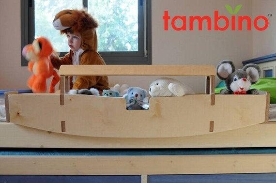 Custom toddler bed rails