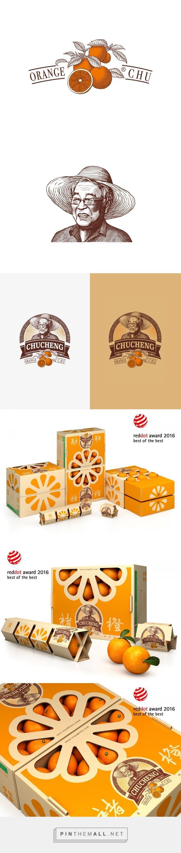 Chu's Orange Packaging and Logo Design by Tiger Pan | Fivestar Branding Agency – Design and Branding Agency