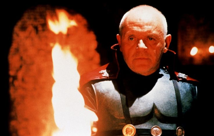 Anthony Hopkins,Titus  Andronicus,  William Shakespeare
