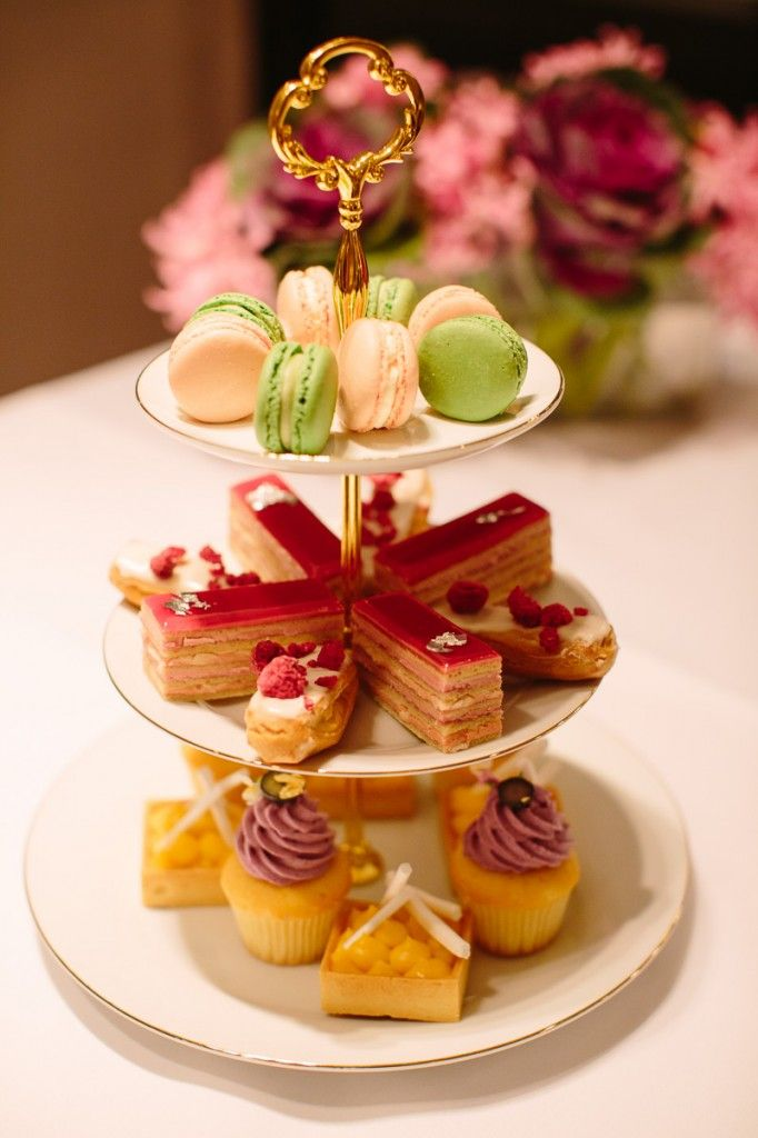 Sweets at the 'What A Girl Wants' High Tea at the Grand Hyatt