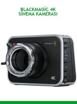 Kiralık Blackmagic 4K Sinema Kamerası