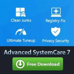 Advanced System Care 7 Discount Coupon for PC Computers