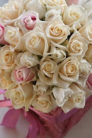 Rose flower pot for centrepiece