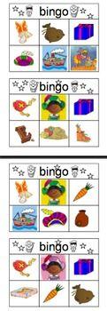 Sinterklaasbingo. 16 bingokaarten (ki kunnen in tweetallen spelen) met afroepkaartjes. Veel plezier!