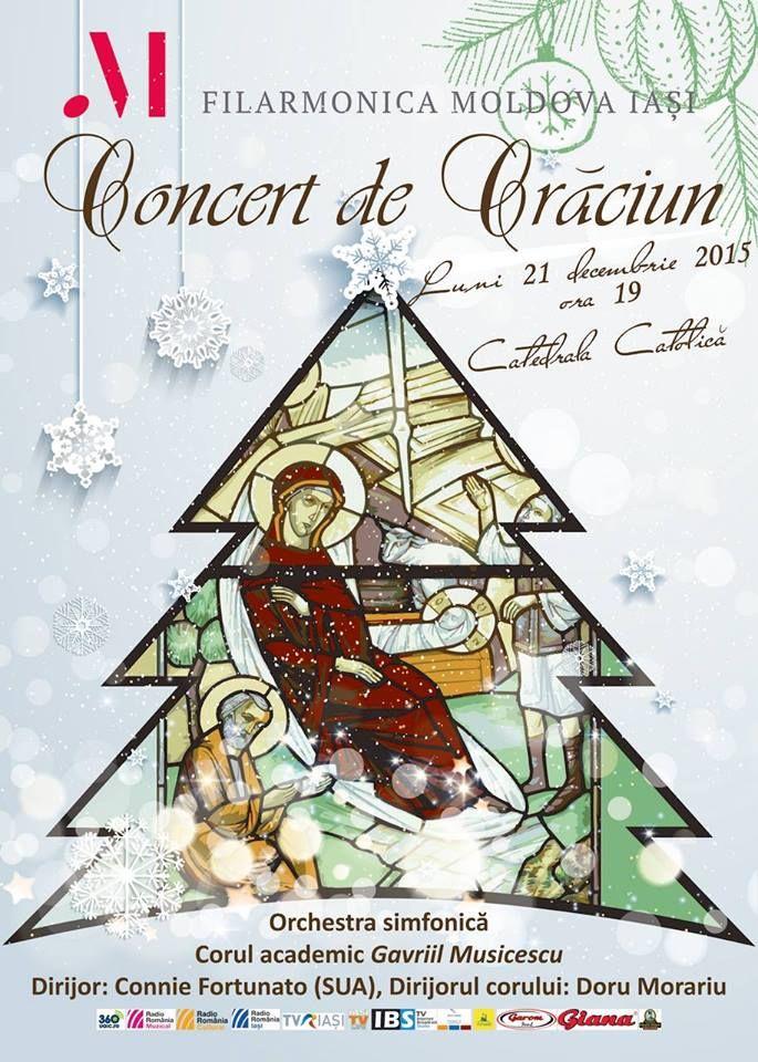 Concert de Craciun al Filarmonicii, la Catedrala Romano – Catolica