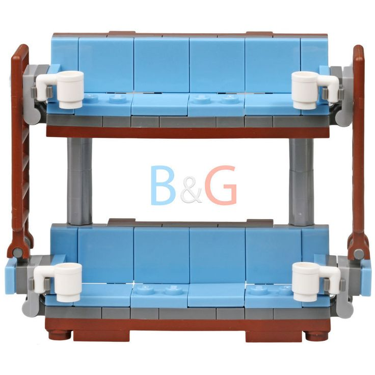 LEGO Custom Double Decker Couch Inspired by 70810 MetalBeard's Sea Cow by Brick2you on Etsy
