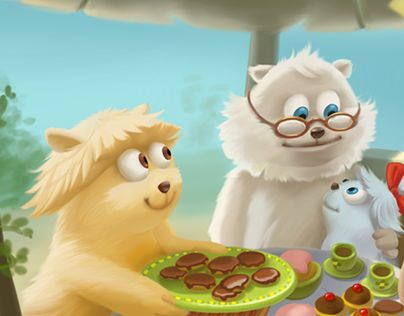 """Check out new work on my @Behance portfolio: """"Illustrations for children's book"""" http://be.net/gallery/33678356/Illustrations-for-childrens-book"""