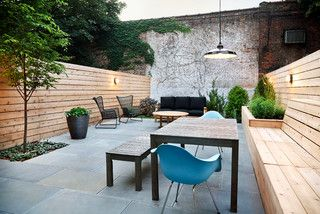 Modern in Bed-Stuy - Contemporary - Patio - new york - by New Eco Landscapes
