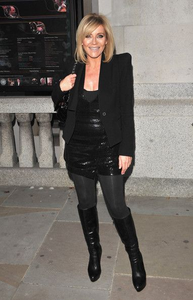 Michelle Collins attends The Inspiration Awards for Women at Cadogan Hall on October 1, 2009 in London, England.