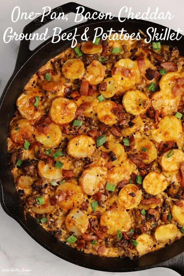 This Recipe Takes Meat And Potatoes To The Next Level With Perfectly Seasoned G Ground Beef Recipes Healthy Healthy Beef Recipes Ground Beef Recipes For Dinner
