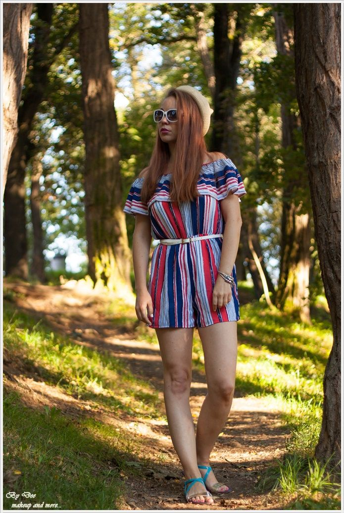 OOTD: My multicolor jumpsuit ~ By Dee make-up and more