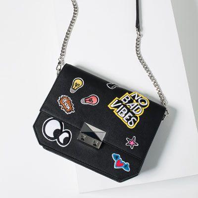 ZARA - Patch Cross-Body Bag