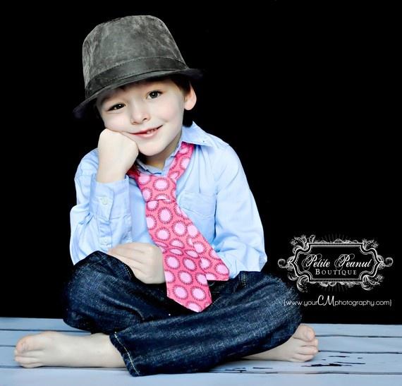 love this picture: Pink Orange, Newborns Pictures, Ties Pink, Sibling Pictures, Guys Necktie, Necktie Ties