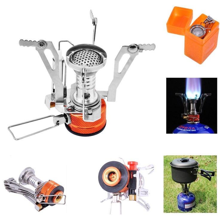 Camp Stove with Piezo Ignition, Portable Ultralight Backpacking Stove * See this awesome image  : Backpacking gear