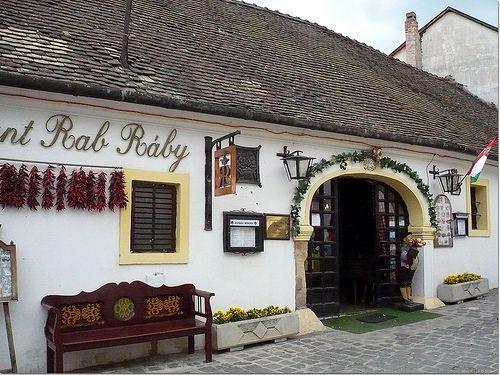 Restaurant Rab Ráby - Szentendre, Hungary