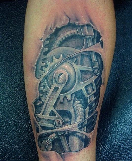 Biomechanical tattoo...