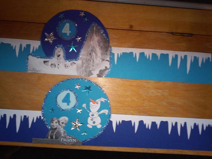 Leuke frozen verjaardagsmutsen