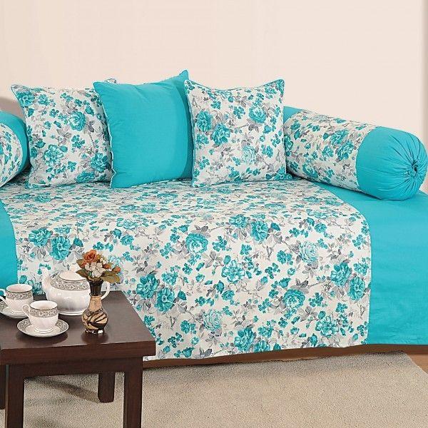 SWAYAM BLUE ROSES DIWAN SET- 2711
