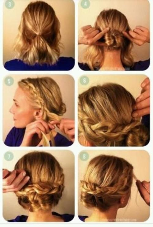 hair bun styles tutorial braid low bun tutorial updo styles 3490