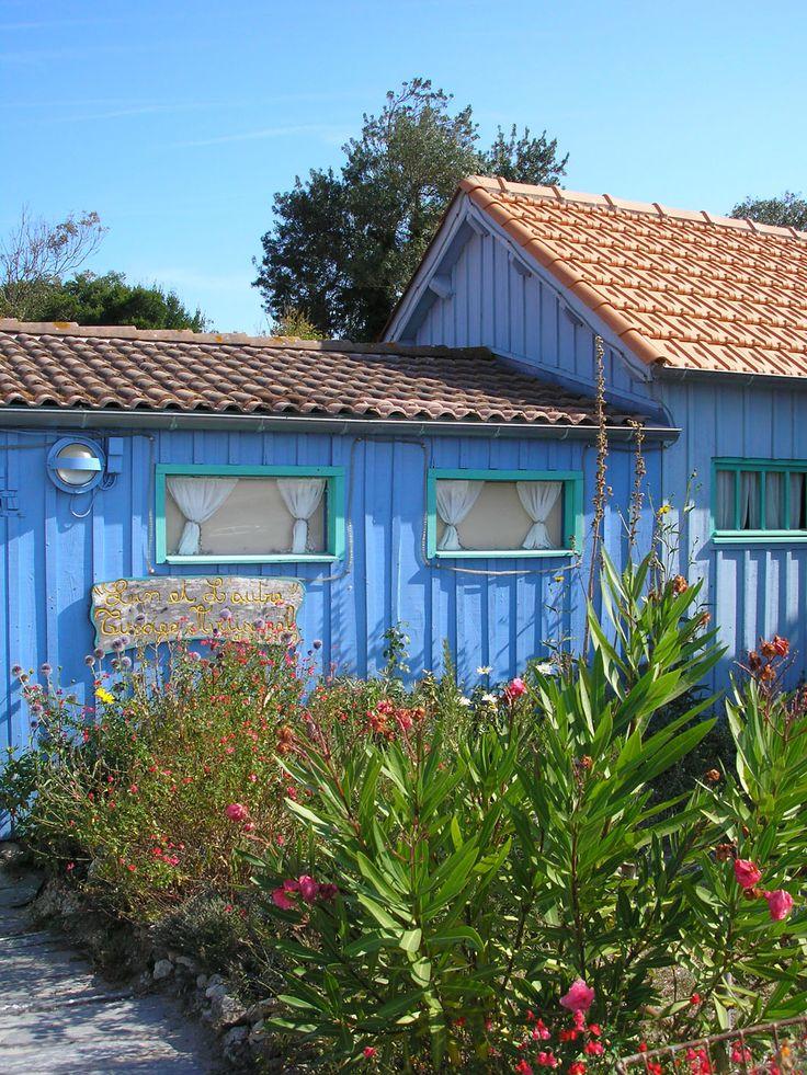Exemple de maisons à Boyardville. A proximité de Goelia sur l'Ile d'Oléron.
