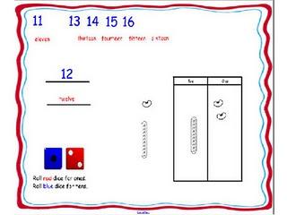 Smartboard Teen Number Generator