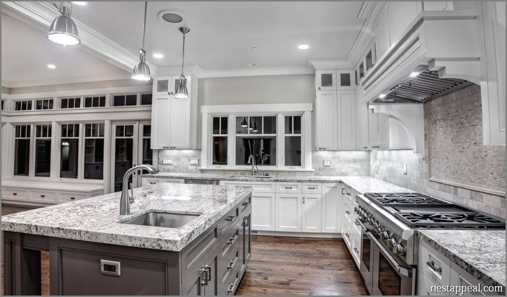 1000 Ideas About Grey Granite Countertops On Pinterest