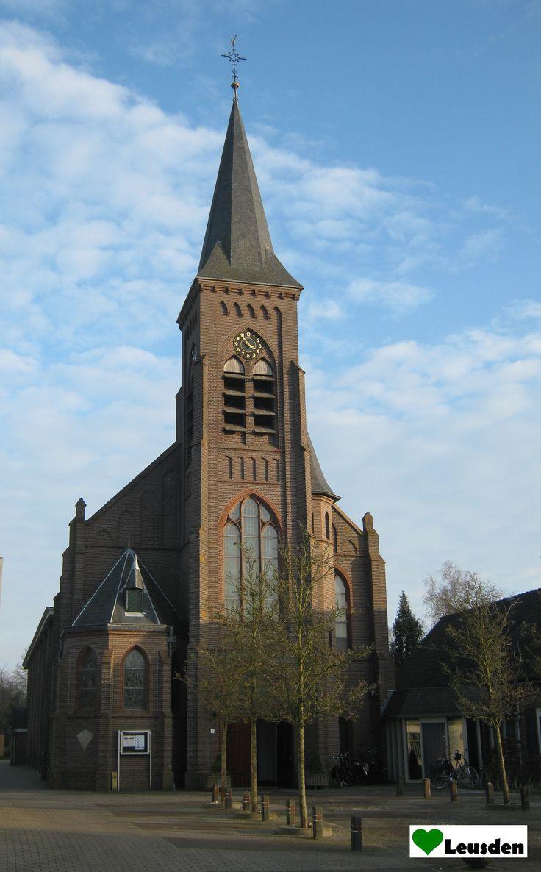 St. Jozefkerk in het centrum van Leusden