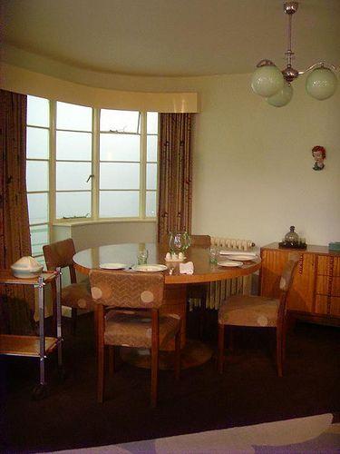 1930s Living Room Dining London Art Deco Interior
