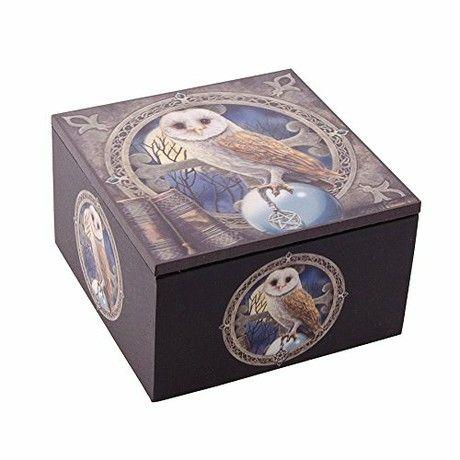 Nemesis Now Spell Keeper Jewel Case Jewelry Box with Mirror (10 cm)