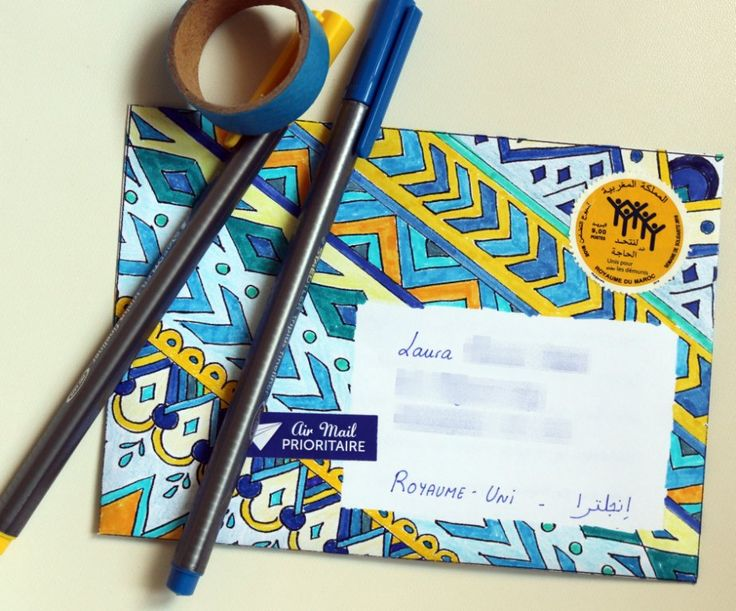tribal coloring book page and envelope free printables how to diy video aztec ethnic stationery snail mail colouring freebie coloring a - Free Coloring Books By Mail