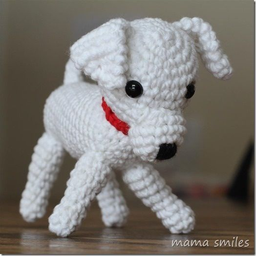 Perrito crochet pinterest