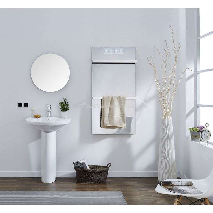 SuninX Spiegelheizung von Infralia mit Infrarot fürs Badezimmer // mirror infrared heating SuninX by Infralia for bathrooms