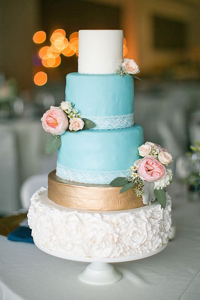 36 Beautiful Wedding Cakes The Best From Pinterest ❤ See more: http://www.weddingforward.com/beautiful-wedding-cakes/ #wedding #cakes