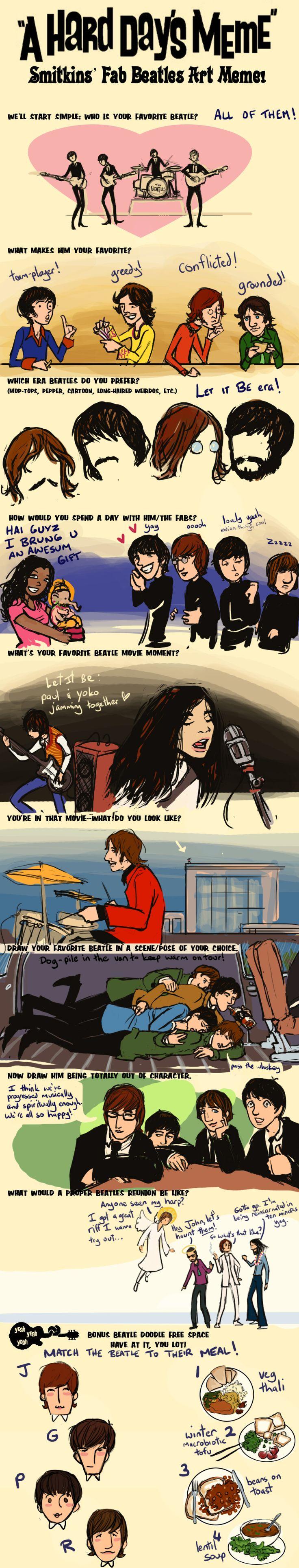 Beatles Meme by lorainesammy on deviantART