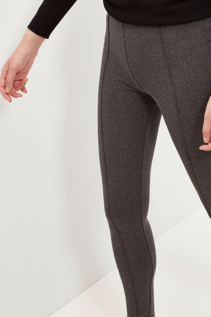 Legging de espiga | Pantalones | Cortefiel