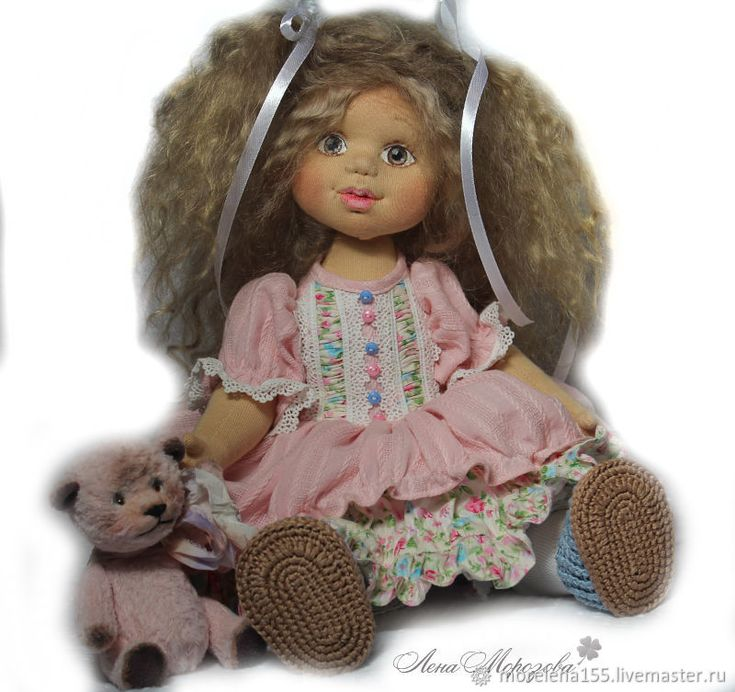 Buy Baby Sophie. Author's textile doll.(reservation) on Livemaster online shop