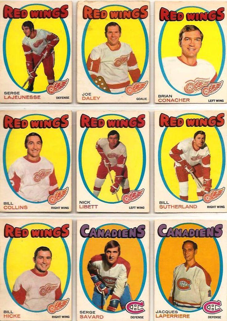 136-144 Serge LaJeunesse, Joe Daley, Brian Conacher, Bill Collins, Nick Libett, Bill Sutherland,  Bill Hicke, Serge Savard, Jacques LaPerriere