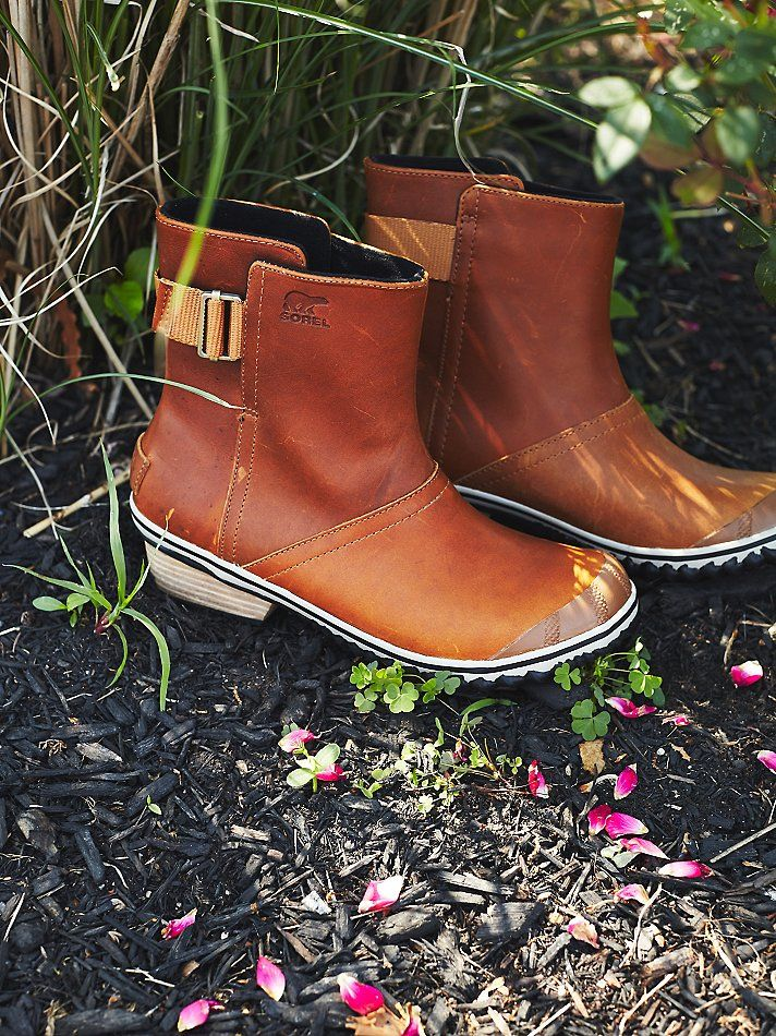 Sorel Slimboot Pull-On Weather Boots at Free People Clothing Boutique