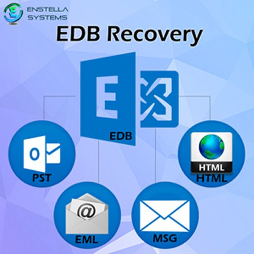 EDB Recovery tool is smooth way to extract selective emails from inaccessible exchange EDB file database and allows to convert EDB to PST with email properties as:- to/bcc/cc/subject and date. Enstella EDB to PST Recovery tool recover EDB file to PST and restore your recovered exchange EDB file data to PST format on your desire location in your PC. Visit Here: - https://www.drupal.org/node/2419835