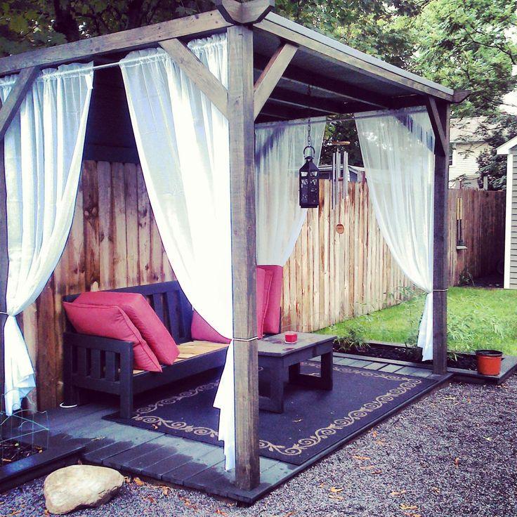 25+ Best Ideas About Outdoor Cabana On Pinterest