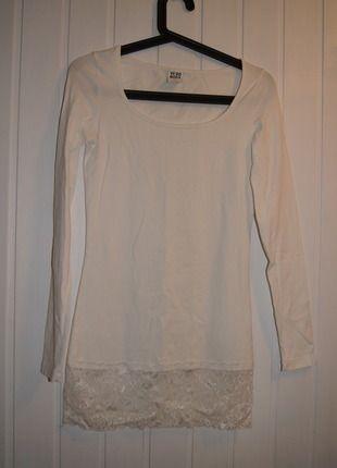 Kup mój przedmiot na #vintedpl http://www.vinted.pl/damska-odziez/tuniki/11472174-sliczna-biala-tunika-sukienka-rozmiar-xs-s