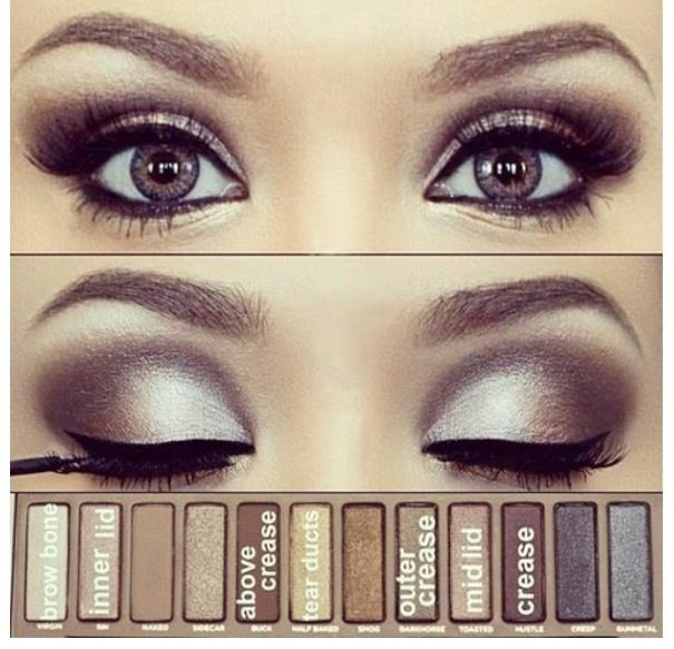 Going to have to try this, just got the Naked palette so this would be perfect for prom