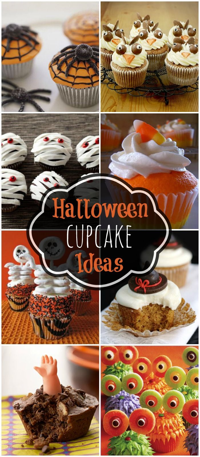 17 Best ideas about Halloween Cupcakes on Pinterest