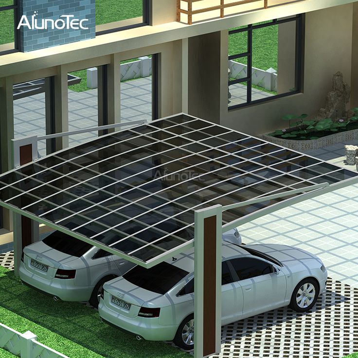 Best Selling Polycarbonate Sheet Solar Carport Prices For
