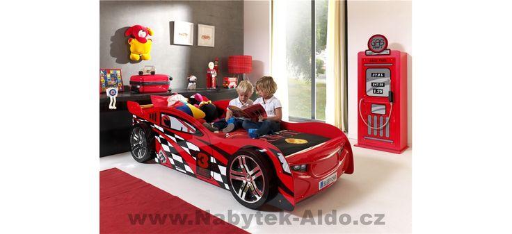Dětský pokoj pro kluka s motivem aut