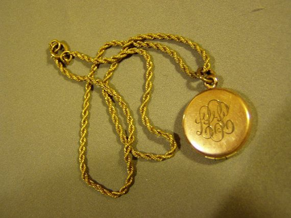 vintage products mf fill boylerpf gold deco necklace filled locket hayward lockets engraved