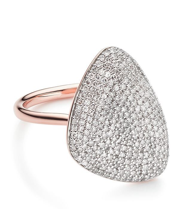 Monica Vinader Nura Teardrop Diamond Ring available to buy at Harrods.Shop for her online and earn Rewards points.