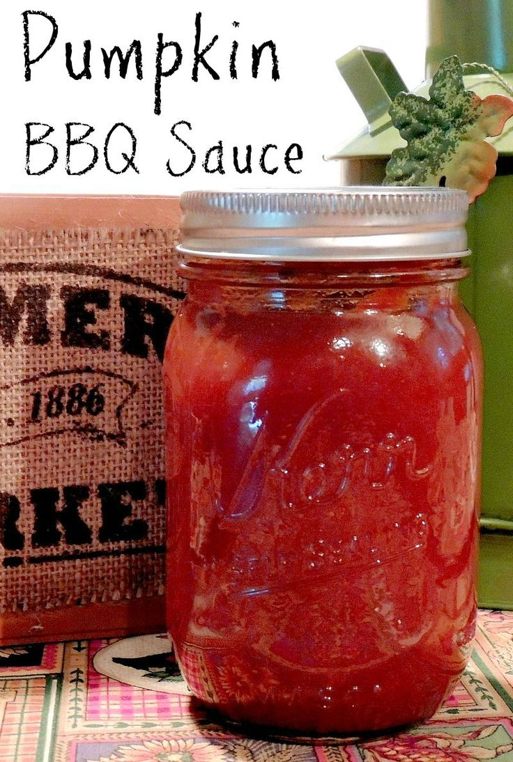 Pumpkin BBQ Sauce - Bring the taste of fall to your grill with amazing BBQ sauce from www.bobbiskozykitchen.com
